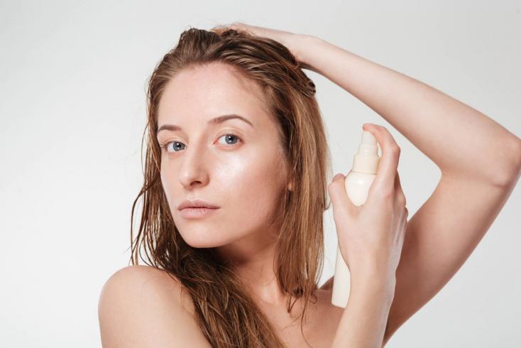 Красота волос: спрей для защиты