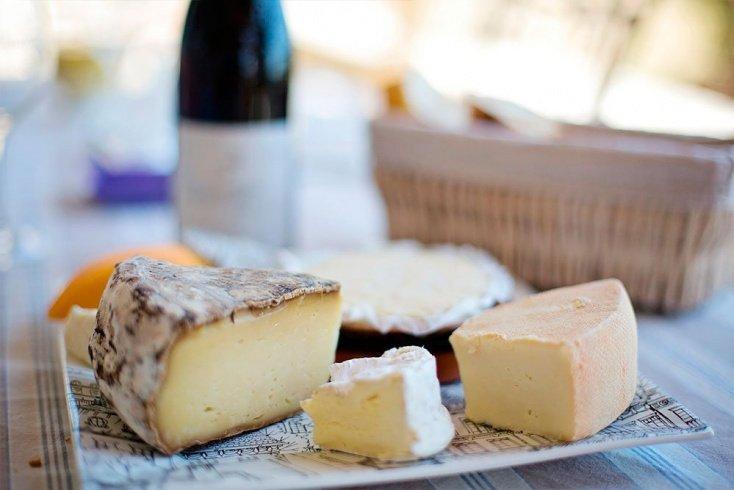 Сыр твердый и плавленый