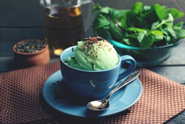 Домашнее мороженое: рецепт фисташкового десерта
