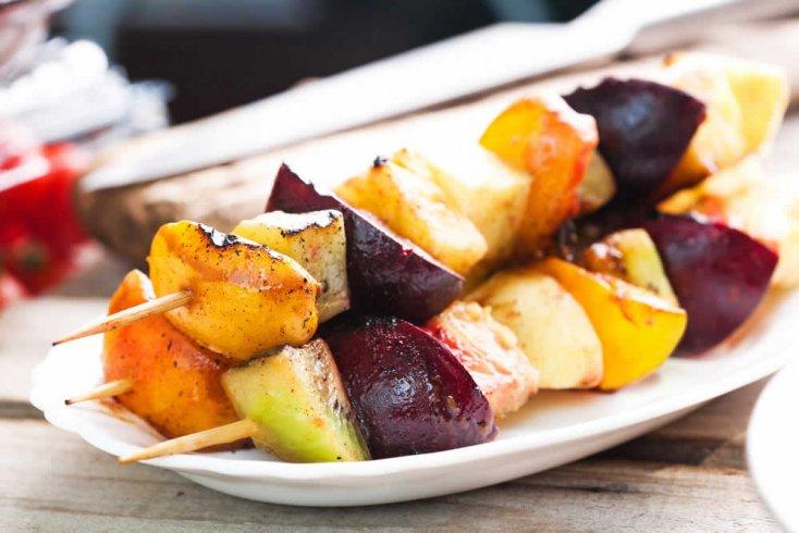 Шашлыки из фруктов