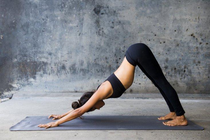 Позы йоги: учимся расслабляться