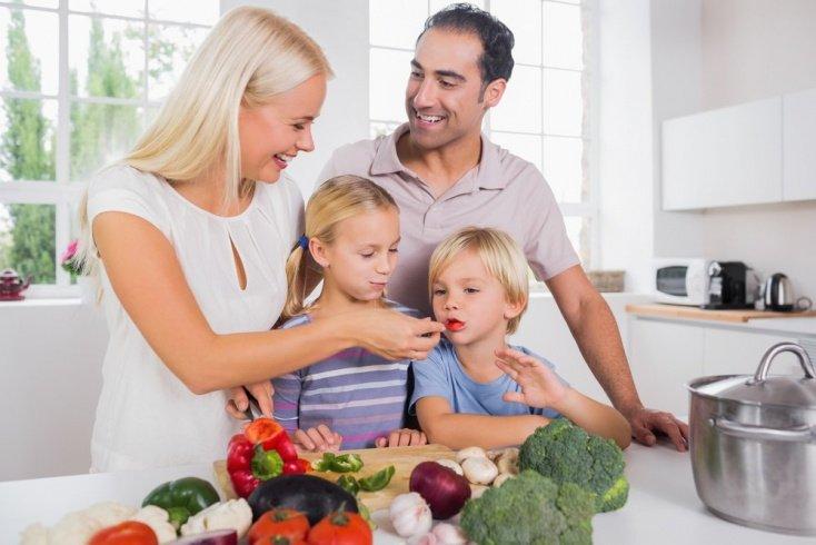 Полезная привычка есть овощи