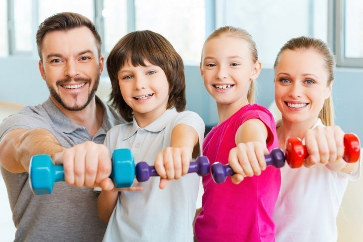 Родители и дети, больше двигайтесь