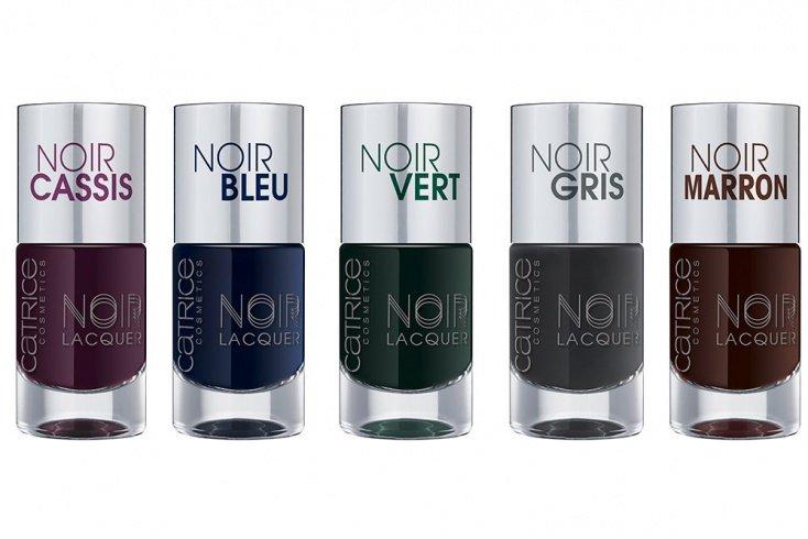 Коллекция лаков для ногтей ногтей CATRICE Noir Noir Lacquers