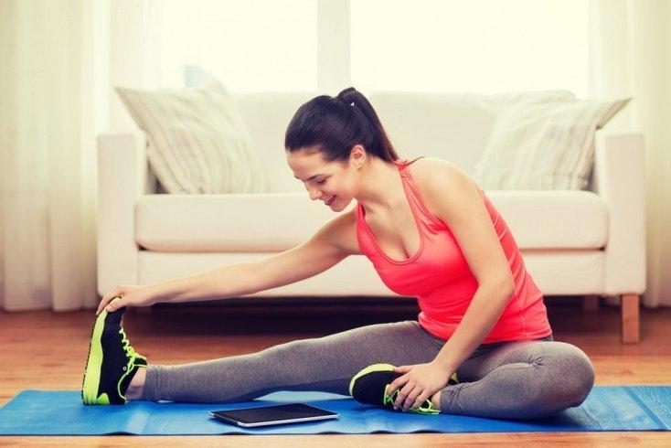 Фитнес дома: упражнения на растяжку