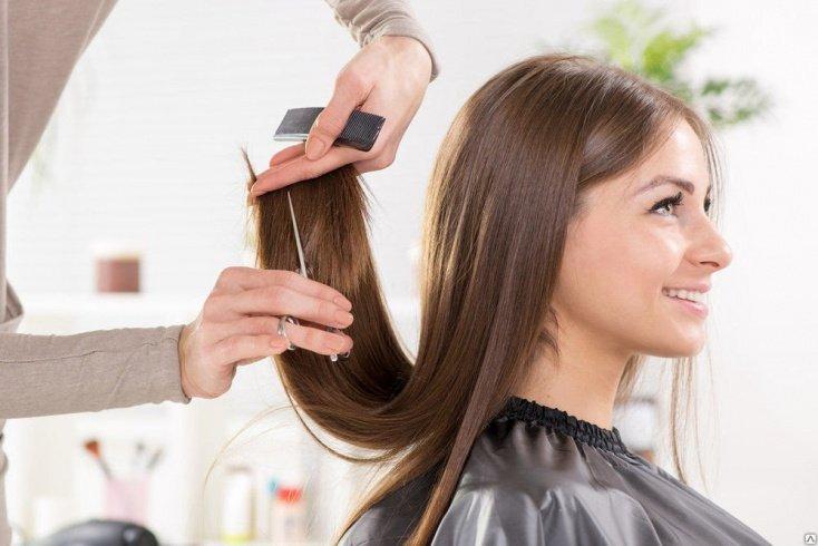 Совет 2. Сходите в салон, постригите волосы