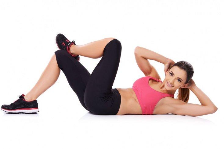 Домашние упражнения для боковых мышц пресса