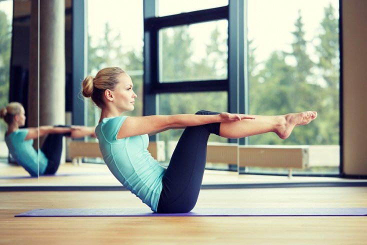 Фитнес-упражнения для прокачки пресса