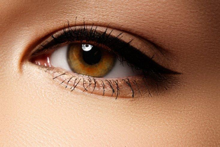 Популярные виды стрелок в макияже глаз