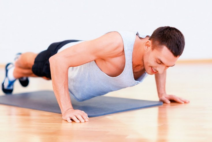 Отжимания — базовое фитнес упражнение для груди