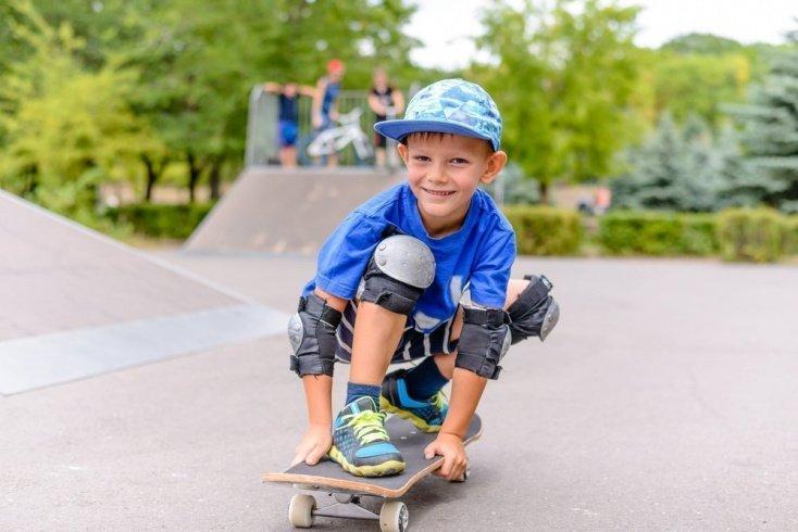 Правила безопасного катания на скейтборде