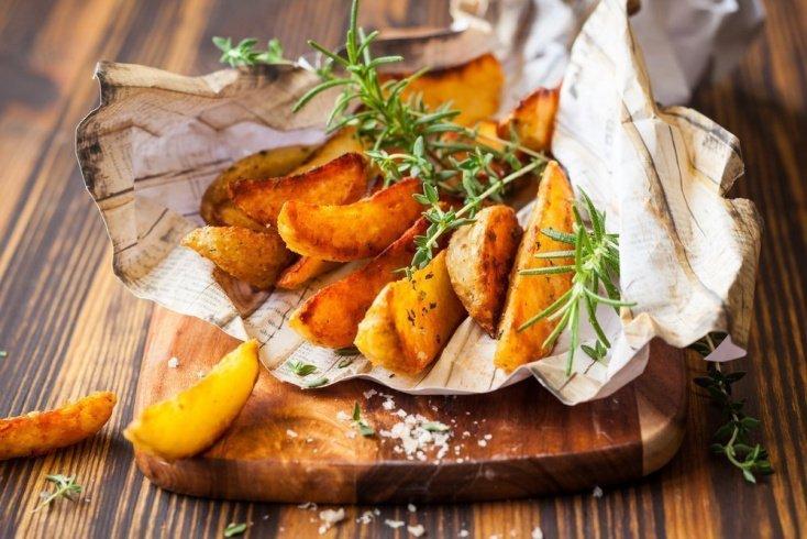 Запеченный картофель, полезный для здоровья сердца