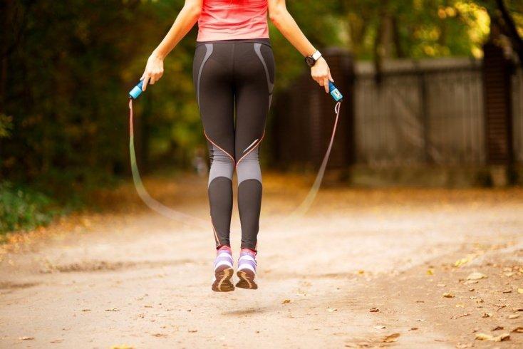 Скакалка против лишнего веса