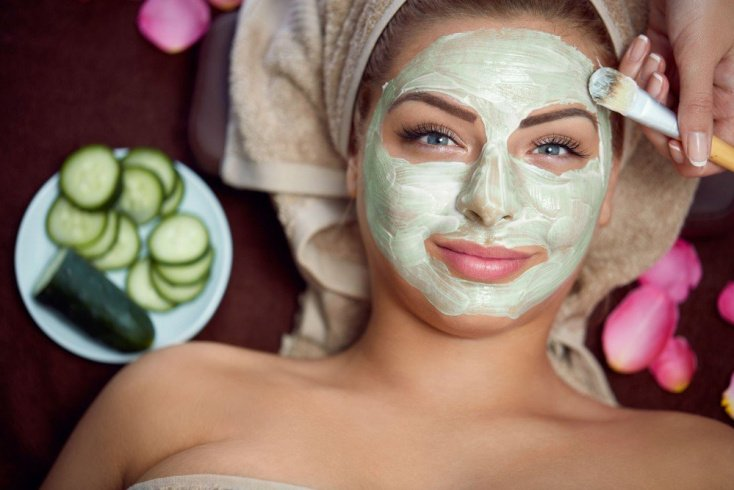 Творожная маска с огурцом для чувствительной кожи