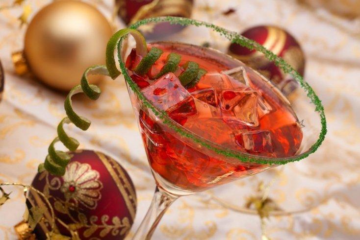 Гранатово-яблочное «шампанское»