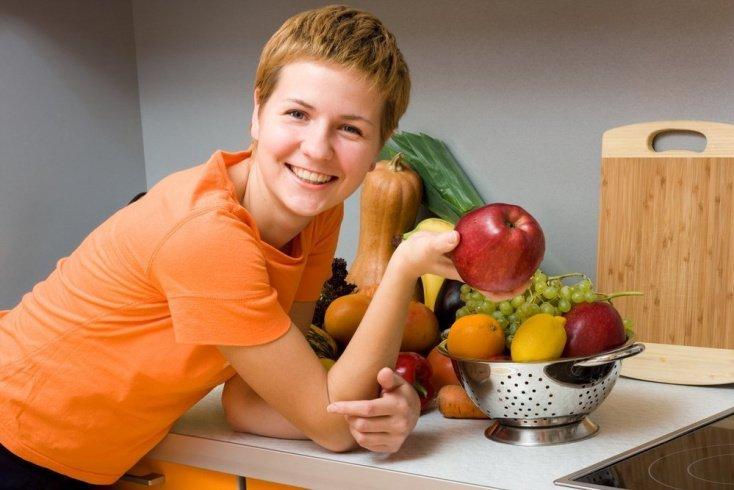 В чем суть диеты на овощах и фруктах?