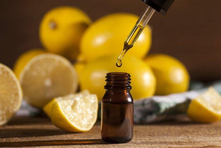 2. Лимонное масло