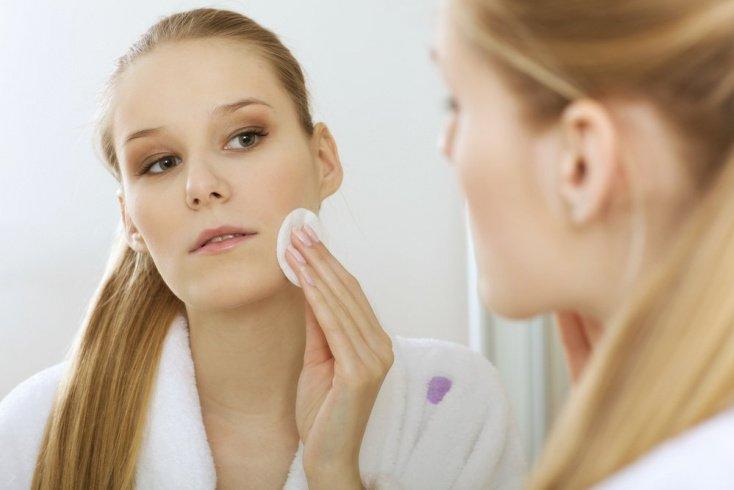 Недостаточное очищение кожи