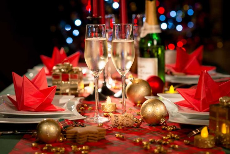Алкоголь на новогоднем столе