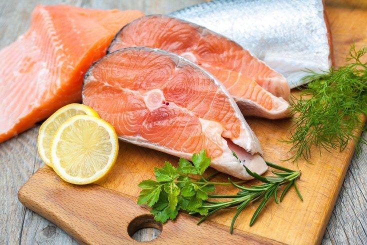 1. Жирная рыба