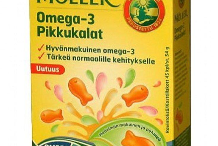 Жидкий рыбий жир «Moller» для детей