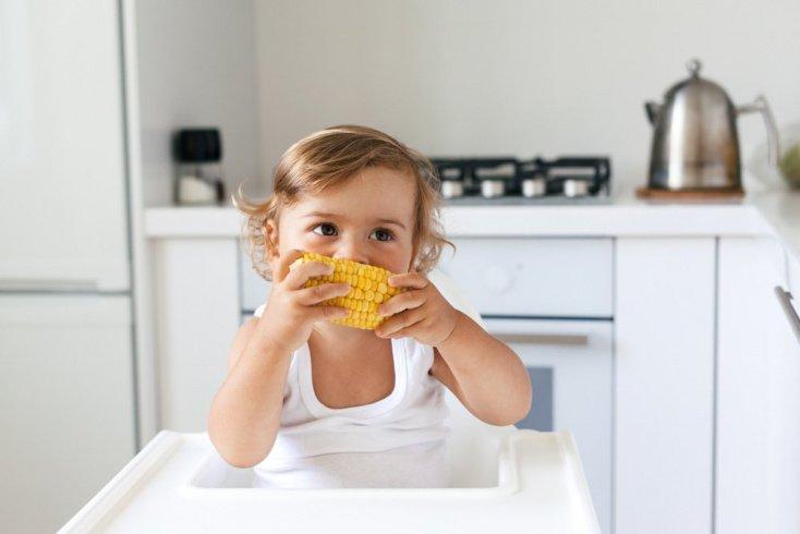 Польза кукурузы в питании малыша