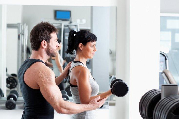 Пример комплекса упражнений при 3-4 занятиях в неделю