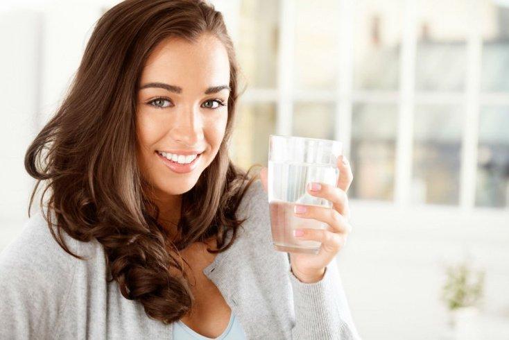 Привычка пить воду натощак