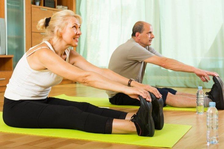 Первая часть: фитнес-упражнения для разминки