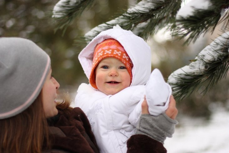 Как определить, что ребенку холодно, жарко, или комфортно?