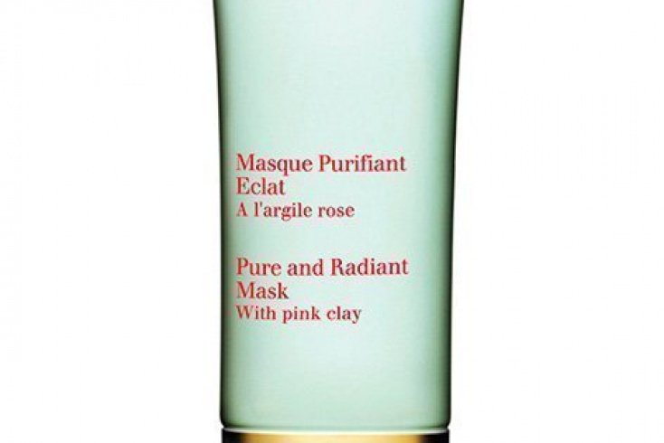 Очищающая маска на основе розовой глины Pure and Radiant Mask Clarins, Источник: shop.rivegauche.ru
