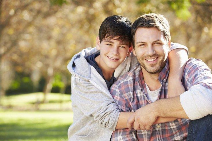 Любовь отца и ребенка