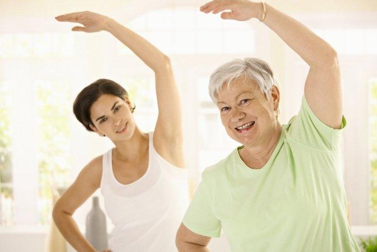 ЛФК для людей преклонного возраста и ослабленных болезнью