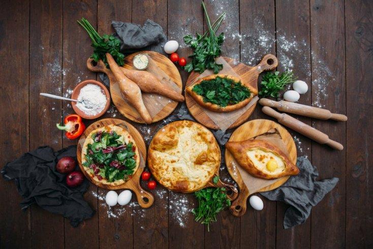 Рецепт хачапури по-аджарски