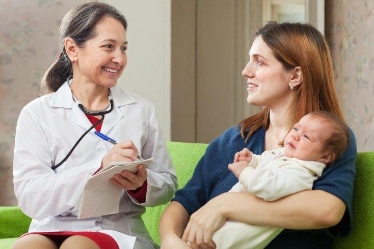 Особенности лечения грудничков
