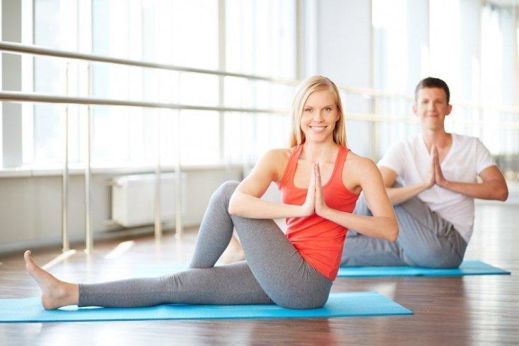 Йога — для тех, кто практикует ЗОЖ