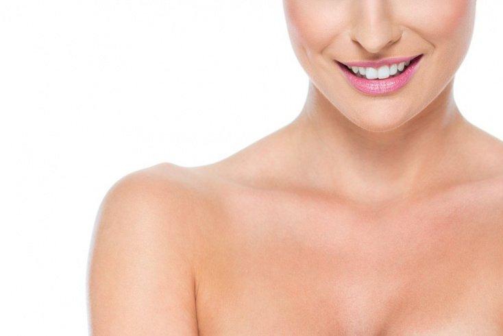 Уход за шеей и кожей груди