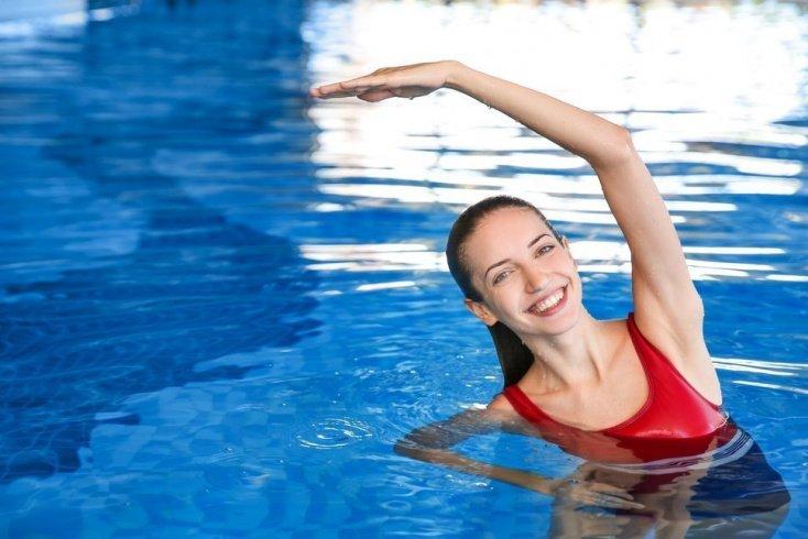 Дополнительный комплекс упражнений в воде