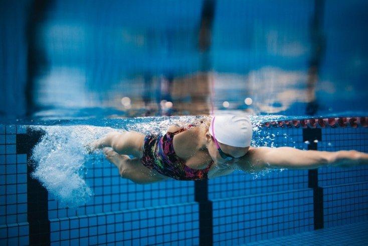 Очки, маска для упражнения в подводном плавании