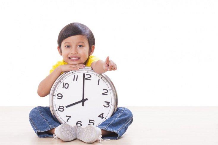 Определяем с ребенком время
