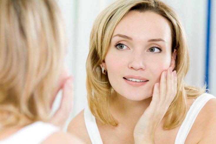 6. Расширенные поры на лице