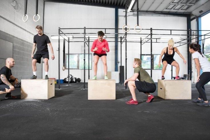 Фитнес-тренировки по кроссфиту