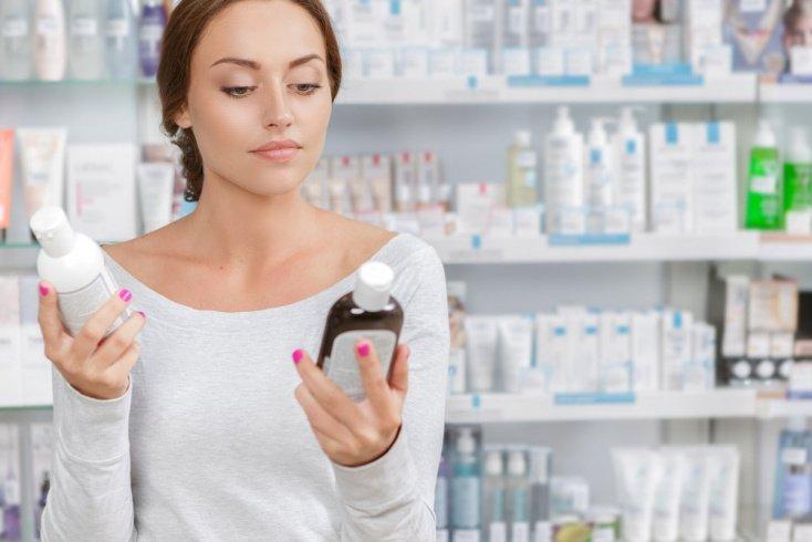 Место покупки косметических средств для кожи