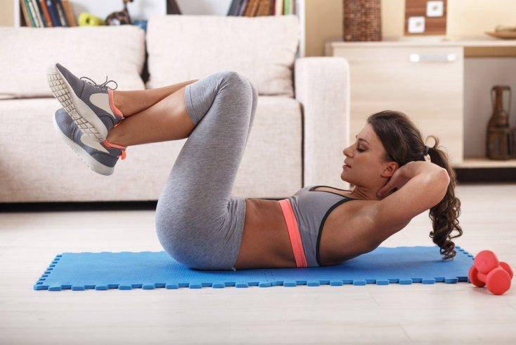 Фитнес для пресса: как задействовать мышцы