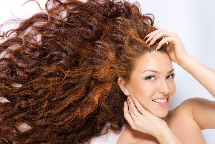 Красота волос с натуральными красителями
