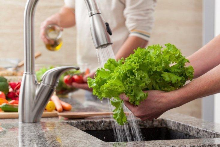 Как обрабатывать овощи для салата?