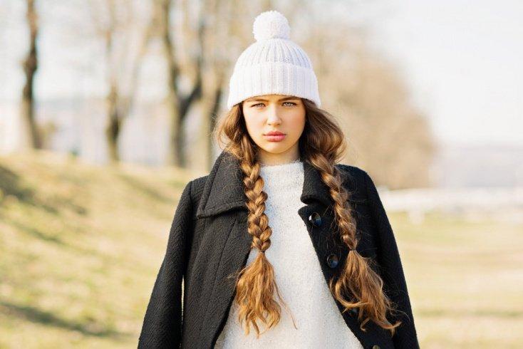 Косы на длинных волосах
