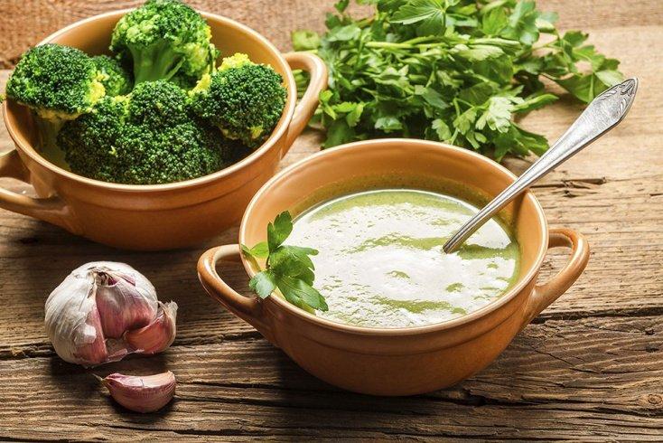 Простые рецепты: суп из брокколи