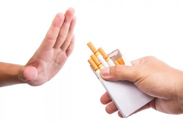 Курение — одна из вредных привычек