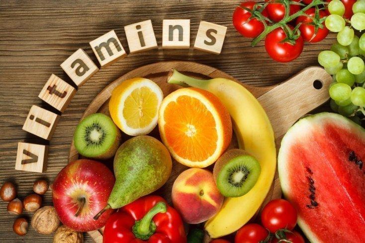 Витамины в фруктах